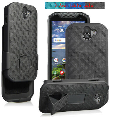 finest selection f7e06 73172 FOR KYOCERA DURAFORCE Pro 2 E6910 Shockproof Armor Heavy Duty Stand ...