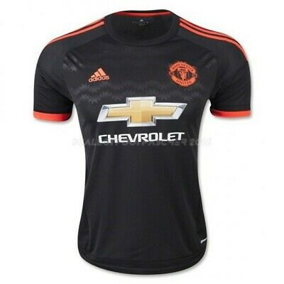 Manchester United Official Football Jersey Black/Red New size L