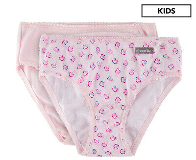 Absorba Girls' Underpants 2-Pack - Pink