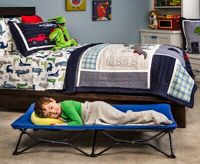 Regalo Toddler Portable Travel Bed - Navy