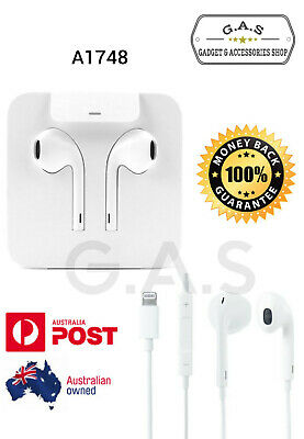 Genuine Apple Earpods Earphones Headphones A1748 For iPhone7 8 PLUS X XR XS MAX