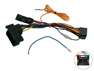Connects2 Head Unit Replacement Interface Adaptor Cable Lead For Volkswagen Car