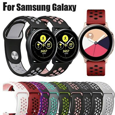 Sport Silicone Replacement Band Wrist Strap For Samsung Galaxy Watch Active New