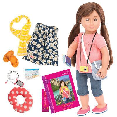Our Generation 46cm Reese Doll with Book & Accessories - 70.31044ATZ