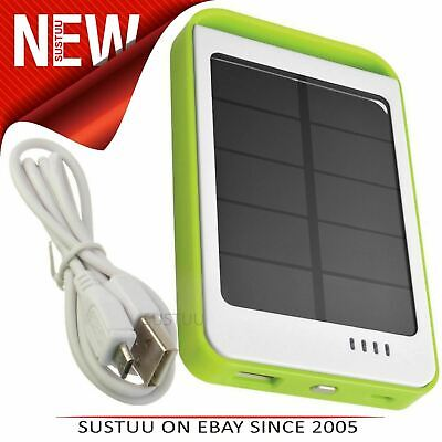 Cobra CPP100 Solar Power Bank│2.1 Amp Fast Charger│6000mAh│Mobile Phones-Tablets