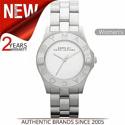 e4ea4c2f0c4c4 Marc Jacobs Blade Ladies Watch MBM3125│White Dial│Silver Tone Stainless  Strap
