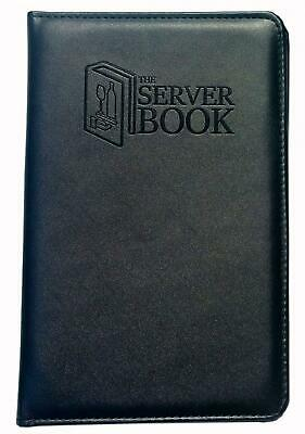 The Server Book with Zipper Pocket - Black Waitress/Waiter Money for Every...