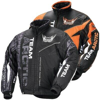 Arctic Cat Youth Team Arctic Snowmobile Jacket - Green Pink Black Orange Purple
