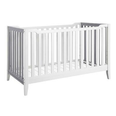 Baby Relax Aaden 3-in-1 Convertible Crib - White