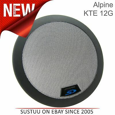"Alpine KTE-12G|12"" Grill for Type S & R Subwoofers