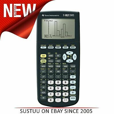 Texas Instruments TI82 STATS Graphic Calculator for Maths & Science  82STTBL4E5