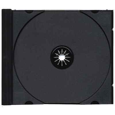 Lotto 50 Tray Neri per Custodia Cd Dvd Jewel Case 10,4 mm