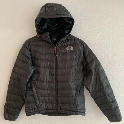 bd43ecdc1 WOMEN'S THE NORTH FACE 800 Down Summit Series Hooded puffer Jacket S Small  Gray