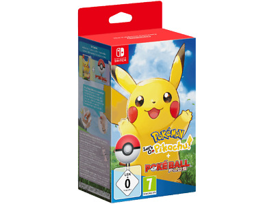 Pokémon: Let's Go, Pikachu! + Pokéball Plus - für Nintendo Switch - deutsch