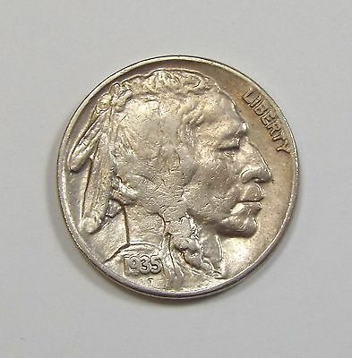 1935-D Buffalo Nickel ALMOST UNC 5-Cents