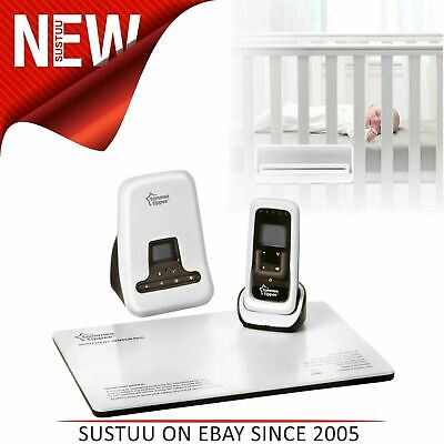 Tommee Tippee DECT Digital Sound & Baby Movement Monitor│Sensor Pad│Two-way│300m