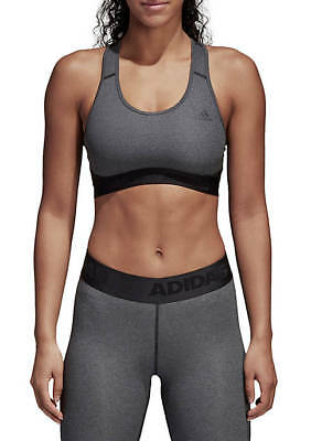 f68c4818ee NEW adidas AlphaSkin Racerback Medium-Impact Sports Bra XS