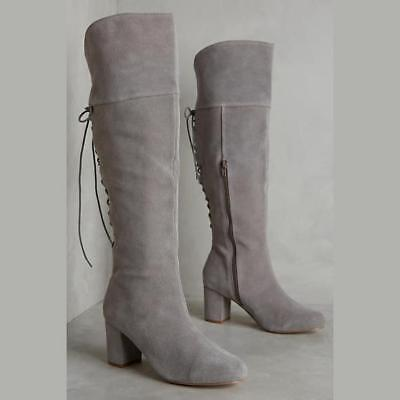105c5ebee14  ANTHROPOLOGIE FARYLROBIN EMARE OVER THE KNEE BOOTS sz 7 (AS IS)