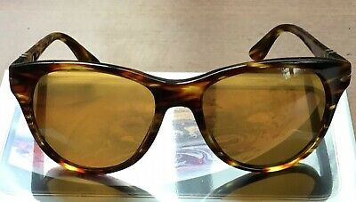 3e645f9231aa Persol PO3134S 938/33 Sunglasses Striped Green Brown Tortoise 51-17-145 Used