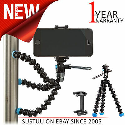 Griptight Gorillapod Mount/ Tripod│Joby Magnetic Smartphone Flexible Video Stand