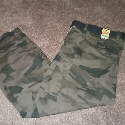adb240f4ce New Mens Plugg Camo Camoflauge Cargo Pants Belted Standard Fit Size 44 46 32