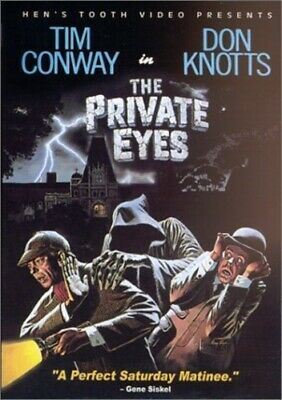 THE PRIVATE EYES New Sealed DVD Fullscreen Don Knotts Tim Conway