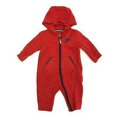 e7f3ba29140c EUC NIKE FUTURA Infant Coverall Hoodie Outfit 3-6 Months -  25.00 ...