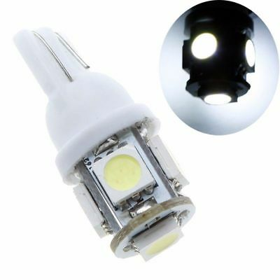 10 PCS T10 194 168 2825 5050 SMD LED Car Lights Lamp Bulb White
