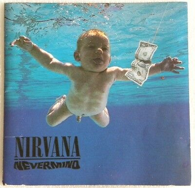 NIRVANA NEVERMIND CD MADE IN BRAZIL 1st PRESS 1991 WITHOUT BARCODE FOO FIGHTERS