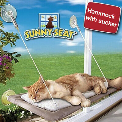 QIND  Window Mounted Cat Bed cat hammock Pet Save Space
