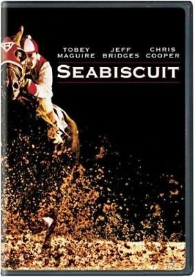 Seabiscuit Tobey Maguire (DVD disc)