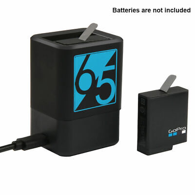 For GoPro HERO 7 6 5 Dual Battery Charger USB-C Type-C Cable Charging Cord Black