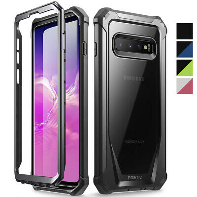 Galaxy S10 Plus ,Poetic® [Ultra Hybrid] Bumper Shockproof Cover Case