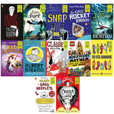 World Book Day 2019 - 12 Books Collection Set Nought Forever,Everdark,Snap NEW
