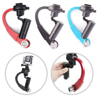 Mini 3-Axis Handheld Gimbal Stabilizer Video Alloy Hand Grip for GoPro Portable