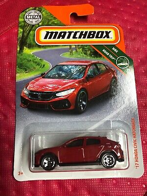 Matchbox 17 honda civic hatchback 14//20 1:64 8//100 2018 mattel