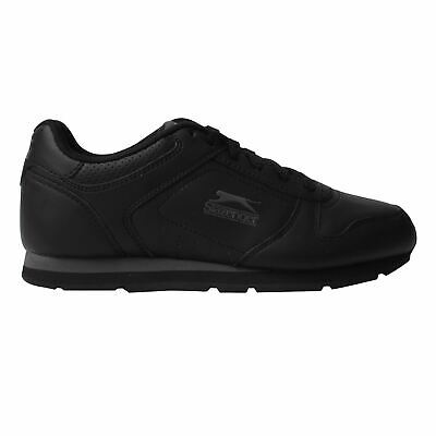 Slazenger Kids Classic Junior Trainers Lace Up Padded Tongue Comfortable Fit