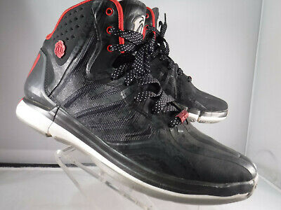 new style 0e271 05a10 PM2 Adidas Derrick Rose Chicagos Finest Black Basketball Shoes Mens Size  8.5