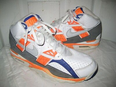 Nike Air Trainer SC High QS Auburn Bo Jackson 302346-106 Mens Shoes Sz 47.5 d60eec26e