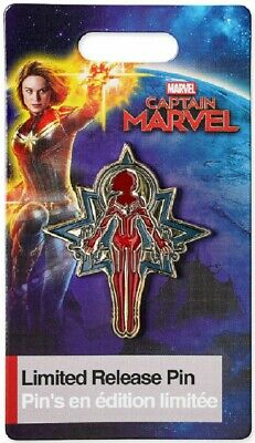MARVEL - Marvel's Captain Marvel Limited Release Pin, Disney Trading 2019 NEW