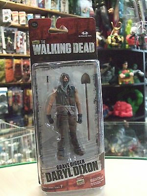 The Walking Dead Series 7.5  Grave Digger Daryl Dixon Figure by McFarlane Toy
