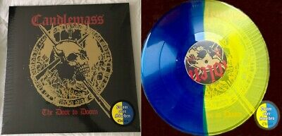 Candlemass - The Door To Doom (Limited Blue/Yellow Vinyl) LP New & Sealed