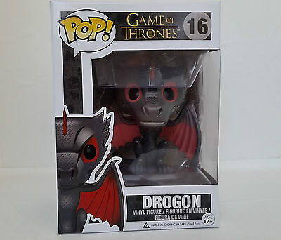 New Funko Pop Game of Thrones Drogon Kalisi Daenerys Dragon Vinyl Figure Toy 16