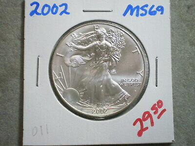 2002 1 Oz PURE .999 SILVER AMERICAN EAGLE/ GREAT OPPORTUNITY