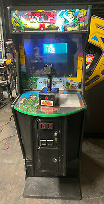 OPERATION WOLF ARCADE MACHINE by TAITO (Excellent Condition)