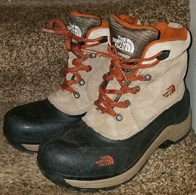 745fad644 NORTH FACE BOYS Snow Boots Sz 6 Waterproof 200 G Insulated Chilkat Winter
