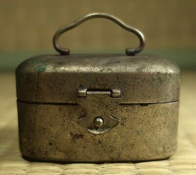 Portable Inkwell / Japanese / Antique