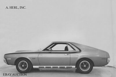 AMC AMX 1970 publicity photograph introduction new model automobile photo