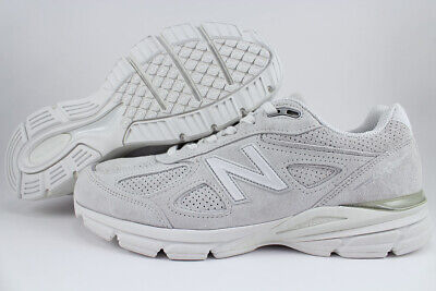 quality design 4daa8 a9a0d NEW BALANCE 990 V4 Arctic Fox Gray/White Made In Usa Running M990Af4 Us Men  Size
