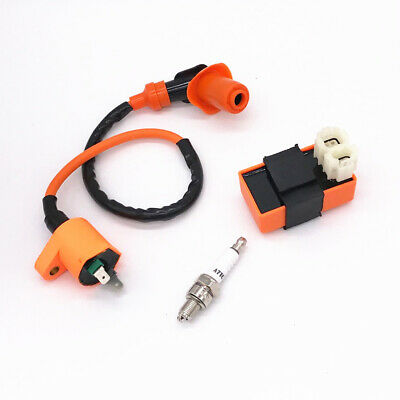 1pc AC Without Speed Limit 6-pin CDI Igniter Fits For ATV Scooter GY6 20CC-150CC
